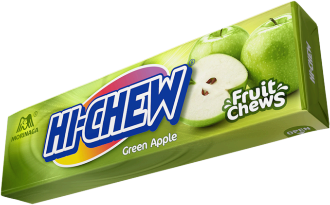 Green Apple Hi-Chew Stick